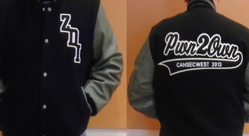 Vinnerne av Pwn2Own-konkurransen kan smykke seg med denne jakken.