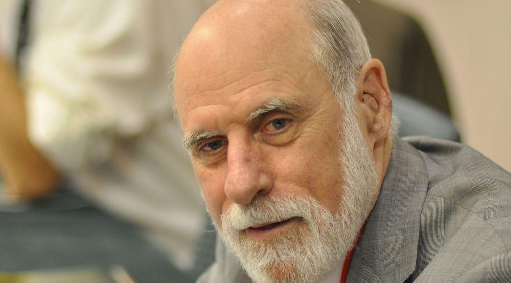 Vinton «Vint» Cerf regnes som én av fedrene av Internett på grunn av sitt arbeid med blant annet TCP/IP på 1970-tallet.
