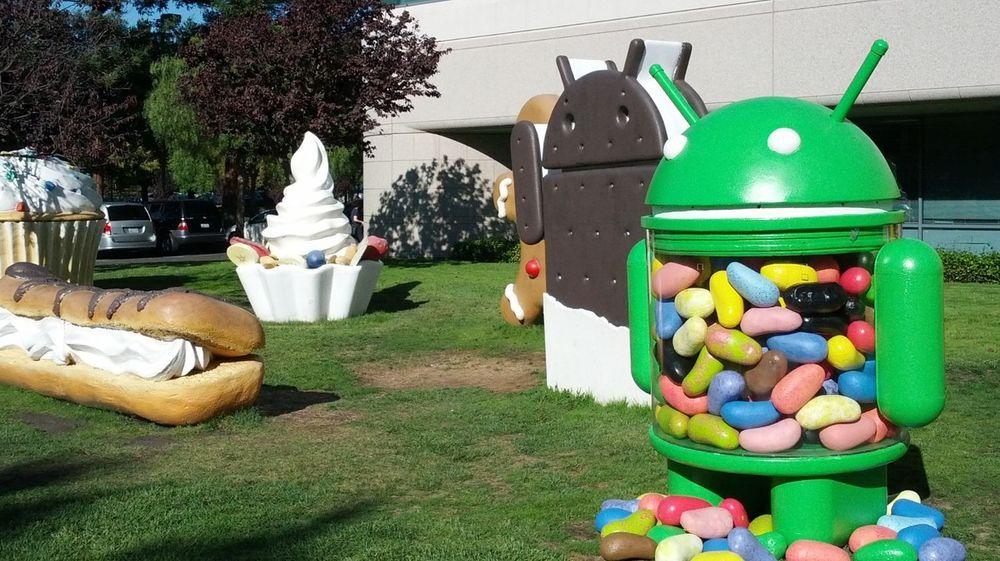 Også Android 4.3 kalles for Jelly Bean, den tredje i rekken av Android-versjoner med dette kallenavnet.