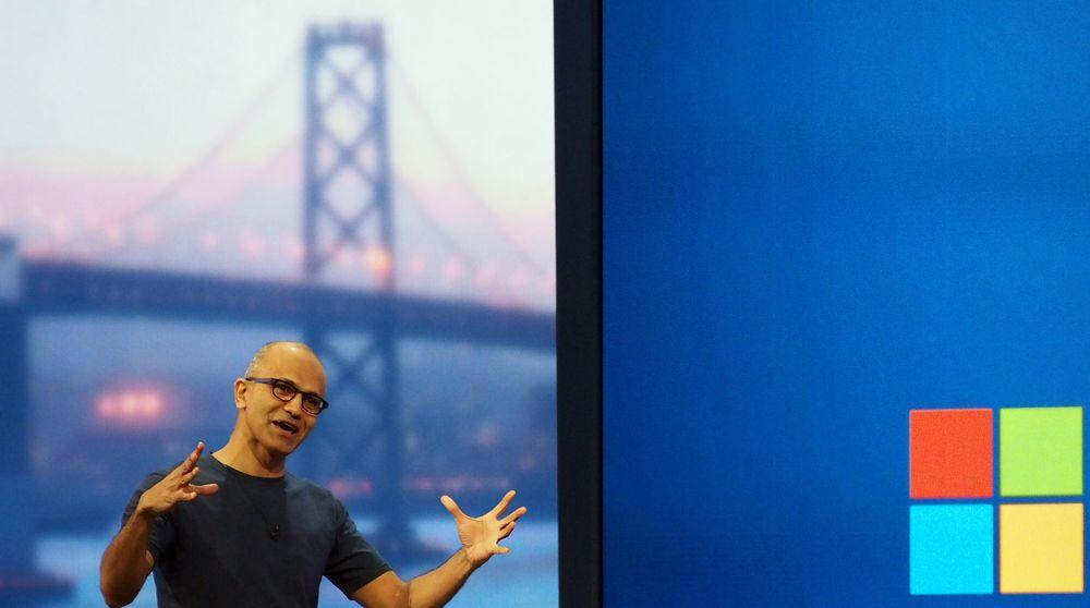 Microsoft-toppsjef Satya Nadella (bildet) varslet i forrige uke en kraftig omstilling i selskapet. Analytiker Rick Sherlund tror selskapet nå vil kvitte seg med mellom 5-10 prosent av staben.