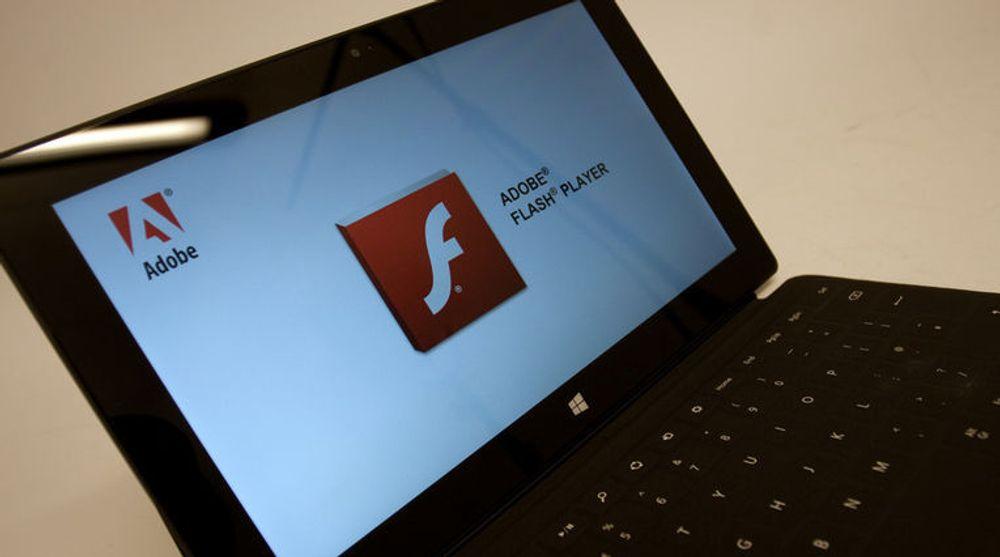Adobe har lagt ut en viktig oppdatering til Flash-programvaren.
