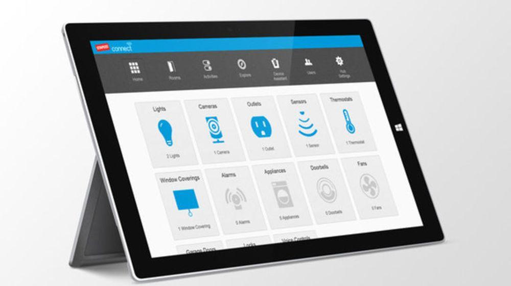 Staples Connect-plattformer fungerer på Windows 8. Nå vil Microsoft satse mer på smarte hjem.