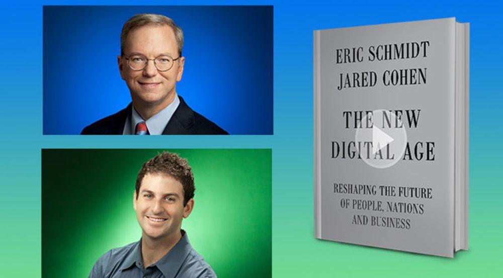 Eric Schmidt og Jared Cohen problematiserer vestlige IT-selskapers leveranser til diktaturer.