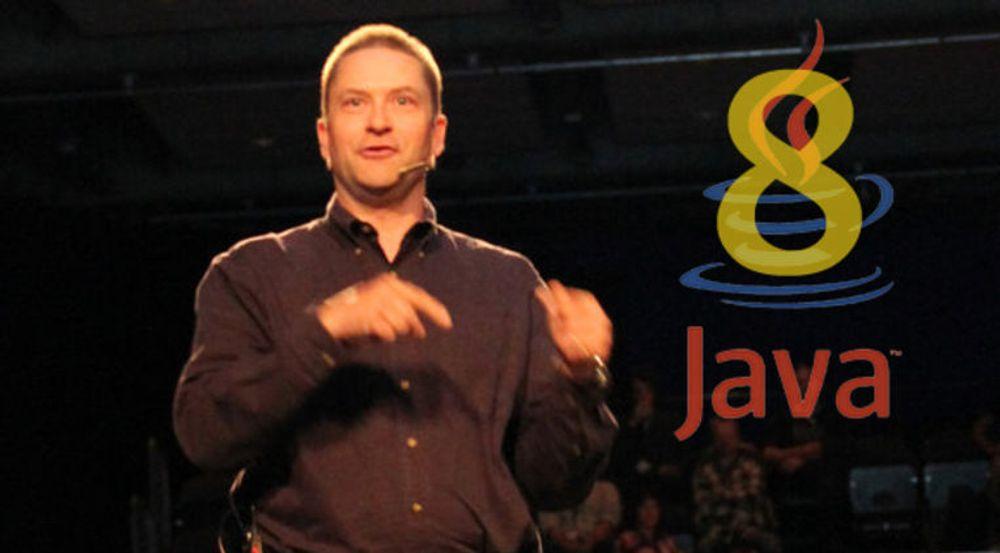 Allerede under Javazone 2011 i Oslo presenterte Simon Ritter fra Oracle Java 8. Da var planen at Java 8 skulle utgis mot slutten av 2012.