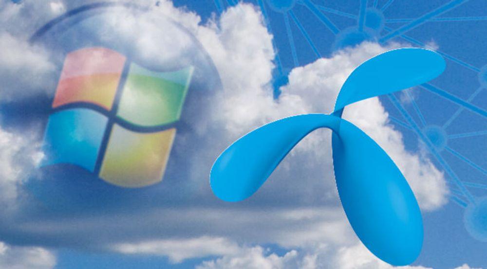 Da Telenor skulle utvikle og teste en oppgradert samhandlingsløsning for 40.000 ansatte, definerte de 80 virtuelle servere i Windows Azure og sparte 70 prosent av de antatte kostnadene.