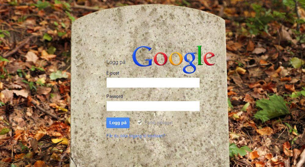 Mitt oppe i alle vanskelighetene et dødsfall skaper for de etterlatte, må de også ofte gjennom et byråkrati for å få slettet den avdødes kontoer på nettjenester. Google tilbyr nå sine egne brukerne en mulighet til gjøre dette noe enklere for de etterlatte.