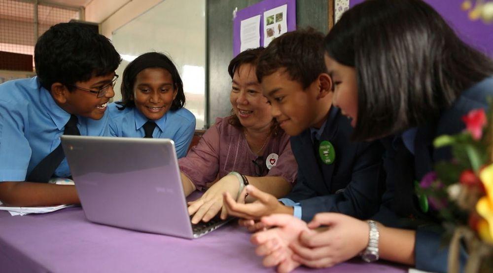 Malaysia satser på Google Apps i skolesektoren. De skal dele ut Chromebook-maskiner til alle lavere utdanningstrinn.