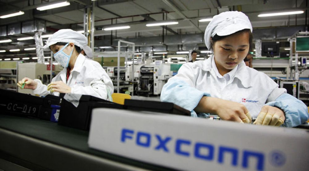 Salgssvikten til Foxconn på 19 prosent blir forklart med svakere etterspørsel for iPhone.