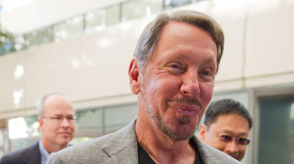 Oracle-gründer Larry Ellison er også største aksjonær i selskapet Oracle nå vil kjøpe.