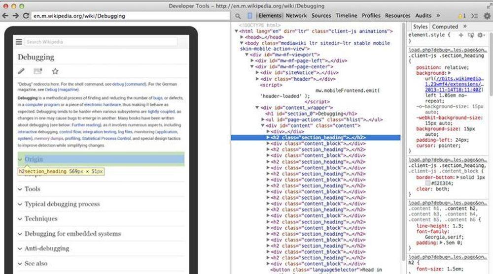 I neste versjon av Chrome vil utviklere av webapplikasjoner kunne koble sammen Chrome på pc-en og Chrome i Android-mobiler, slik at innholdet i Chrome på mobilen også er tilgjengelig i Chrome på pc-en. Utvikleren kan dessuten bruke pc-en tastatur og mus til å samhandle med webapplikasjonen som mobiltilpasses.