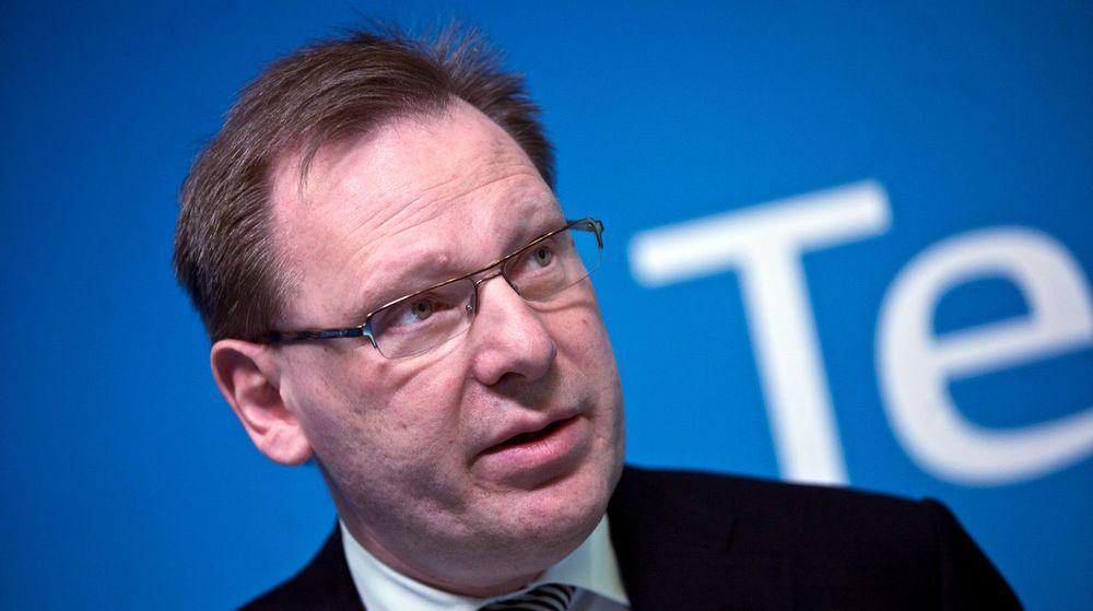 Per-Arne Blomquist er en av fire Telia-sjefer som i dag fikk sparken etter korrupsjonsskandalen i selskapet.