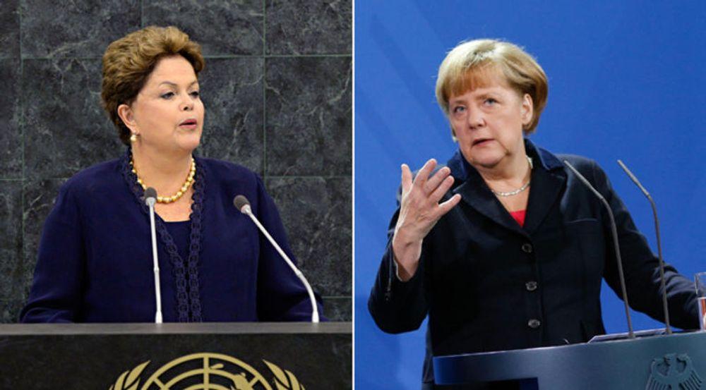 Sammen har Dilma Roussef og Angela Merkel fått til den hittil kraftigste reaksjonen i noe internasjonalt forum mot overvåkningsvirksomheten avslørt av Edward Snowden.