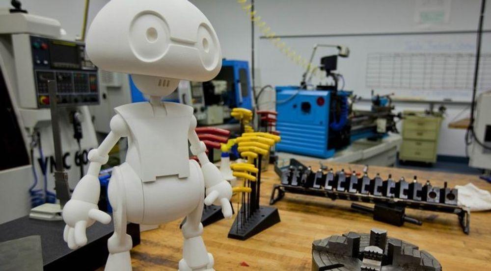 Denne roboten, Jimmy Research Humanoid, kan allerede kjøpes. Men en mindre utgave vil bli tilgjengelig som byggesett for en tiendedel av prisen i løpet av noen måneder.