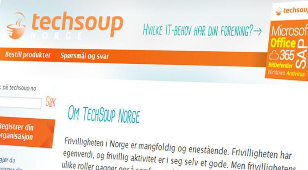 - I dag er en stor dag både for frivilligheten i Norge. I samarbeid med Microsoft, SAP og BitDefender lanserer vi TechSoup Norge, sier Frivillighet Norge.