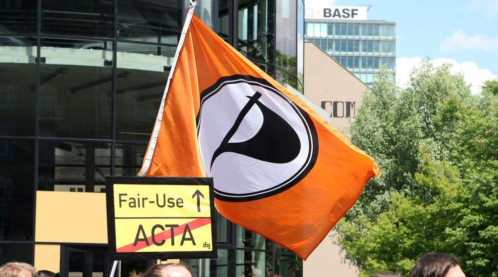 Piratpartiet knep en plass i den tyske delegasjonen til EU-parlamentet. For øvrig gjorde piratene et dårlig valg.
