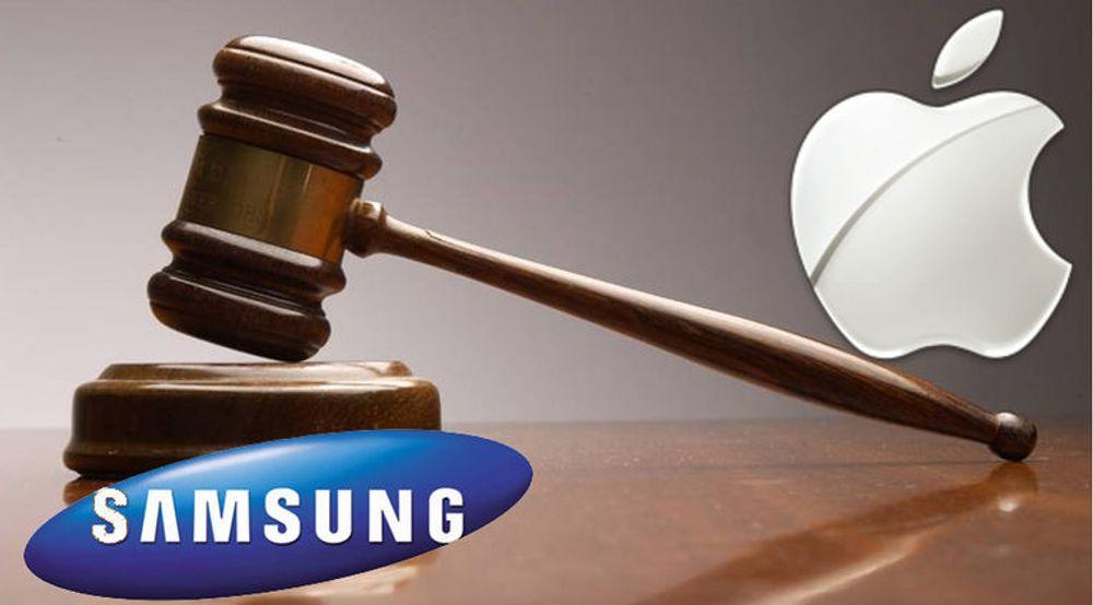 Apple er misfornøyd med erstatningen selskapet har blitt tilkjent fra Samsung for patentkrenkelser, og krever derfor ny rettssak.