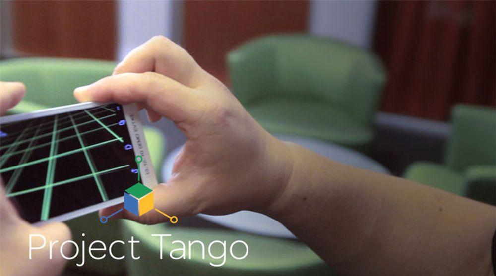 Google har så langt vist fram smartmobiler med Project Tango-funksjonalitet, men skal nå angivelig produsere en noen tusen eksemplarer av et lite, 7-tommers nettbrett basert på den samme teknologien.