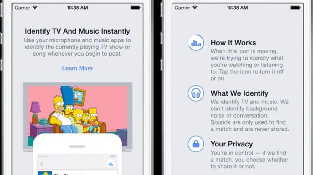 Facebook får et snev av «Shazam»