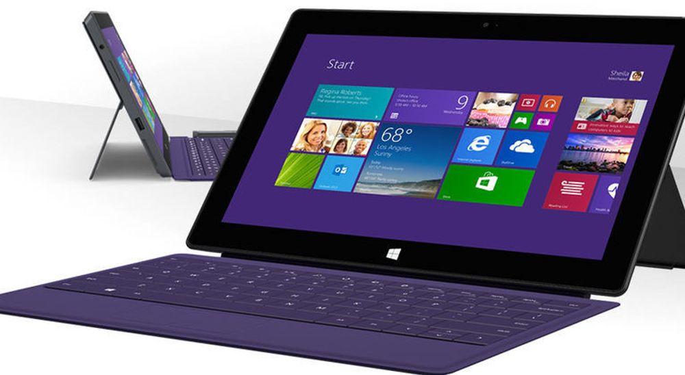 Det spekuleres i om Microsoft allerede nå vil erstatte Surface Pro 2, vist på bildet over, med en ny versjon. Sikrere er ryktene om en mindre utgave med  Windows RT.