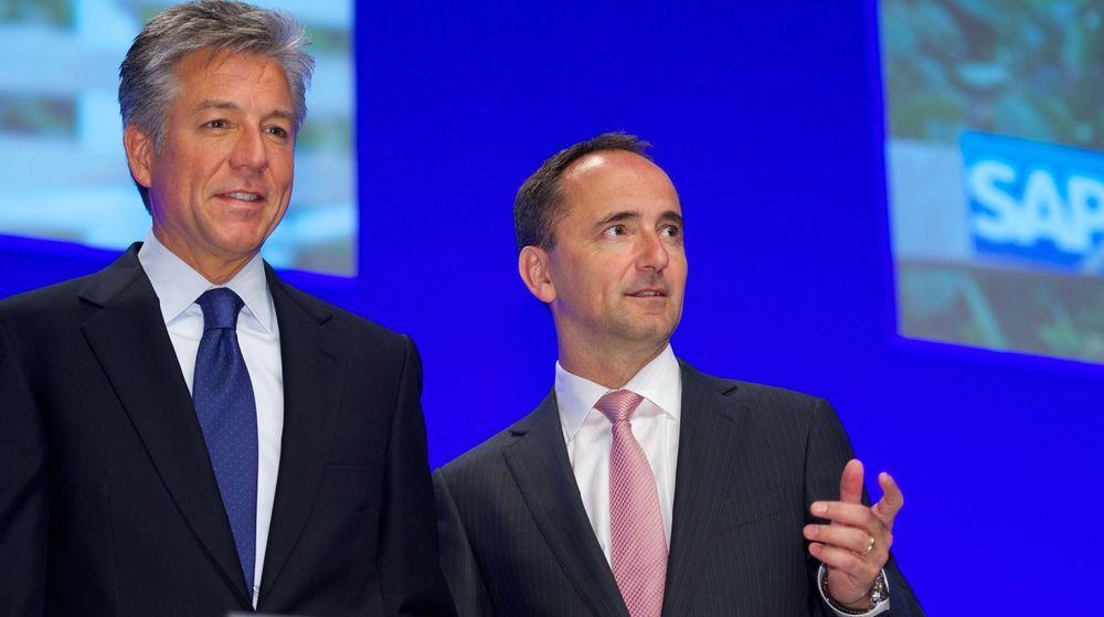 SAPs sidestilte toppsjefer Bill McDermott og Jim Hagemann Snabe vil kombinere Fieldglass med tidligere oppkjøp, nærmere bestemt Ariba og SuccessFactor.