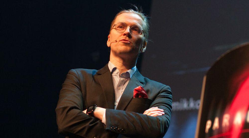 Mikko Hyppönen fra F-Secure holdt keynote-foredrag under Watchcom-konferansen Paranoia 2014. Den durkdrevne finnen har bekjempet virus og skadevare siden 1991, er i dag spaltist for New York Times, Wired, CNN og BBC, og hans foredrag for TED er sett av over en million mennesker.