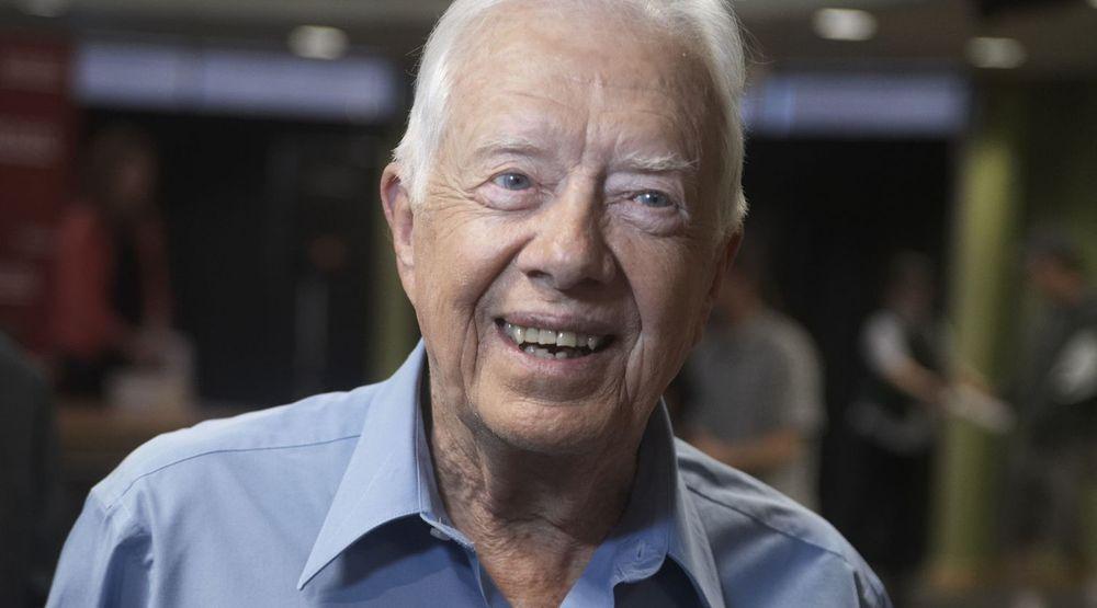 FRYKTER USAs OVERVÅKING: Jimmy Carter, tidligere amerikansk president.