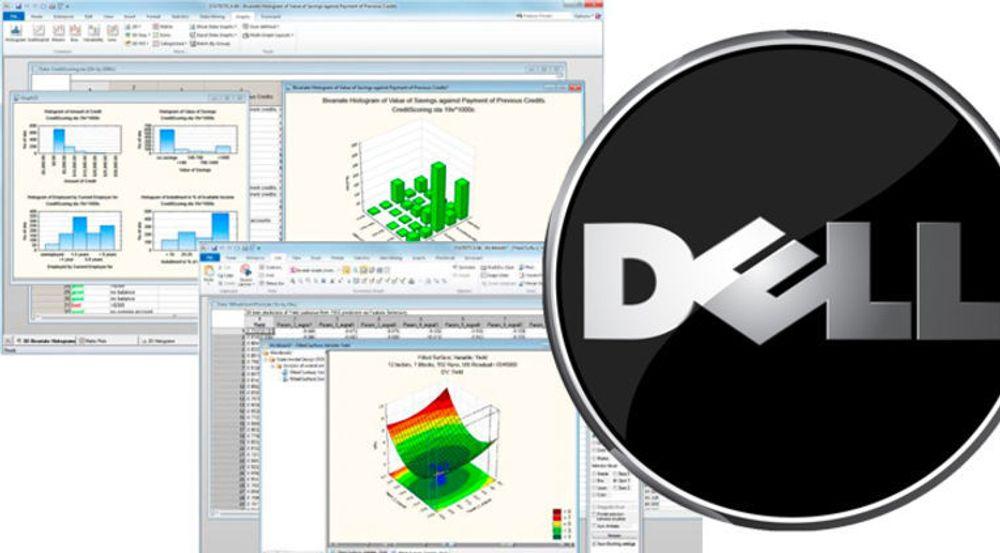 Dell kjøper dataanalyse-selskapet StatSoft for en ukjent sum. Visualisering av og innsikt i store datamengder er blant egenskapene i porteføljen.