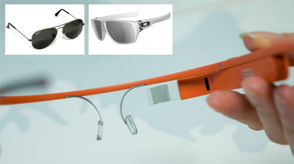 Nå skal Googles smartbrille-teknologi inn i vanlige innfatninger. Det skjer i samarbeid med produsenten av kjente merker som Ray Ban og Oakley.