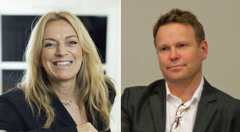 Toril Nag og Tore Kristoffersen mener Norge trenger en nasjonal bredbåndsplan, slik Venstre foreslår.