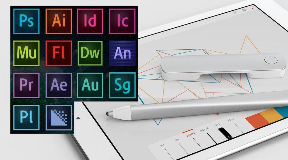 Adobe har fornyet 14 ulike Creative Cloud-produkter og introdusert nye maskinvare til iPad.