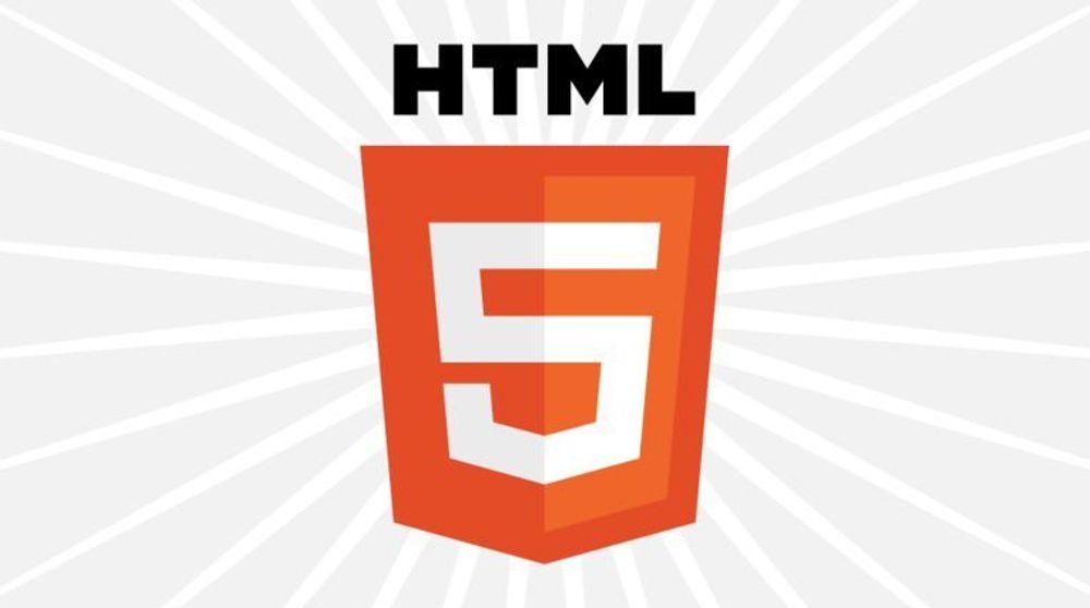 HTML5 er snart ferdig
