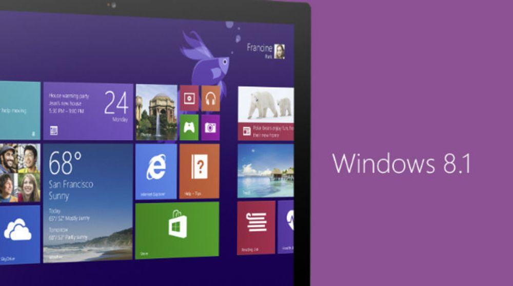 Forhåpentligvis greier alle med Windows 8.1 å installere både Windows 8.1 Update og de nyeste sikkerhetsfiksene uten å støte på store problemer.