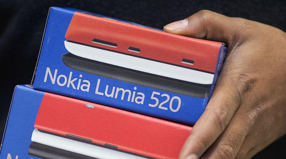 Microsoft billigere Windows-nettbrett og flere smartmobiler i samme prisklasse som Nokia Lumia 520.