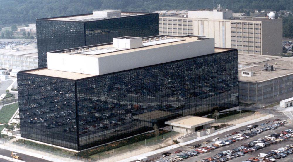 Hovedkvarteret til National Security Agency (NSA) ved Fort Meade, Maryland. Avsløringene om PRISM og andre overvåkingsprogrammer kan føre til at NSA for større problemer med å finne IT-sikkerhetseksperter som vil samarbeidet med tjenesten.