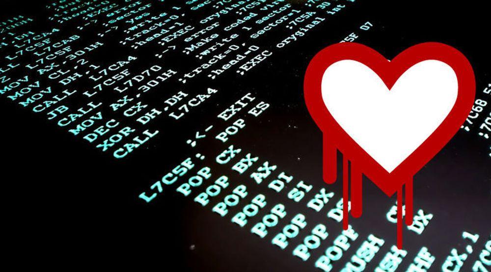 Heller ikke kriminelle hackere er immune mot dataangrep, som for eksempel utnytter Heartbleed-sårbarheten. Det har sikkerhetsforskere nå utnyttet. Koden på bildet skal forøvrig være hentet fra et gammelt virus.