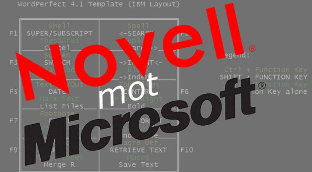 Microsoft med endelig seier mot Novell