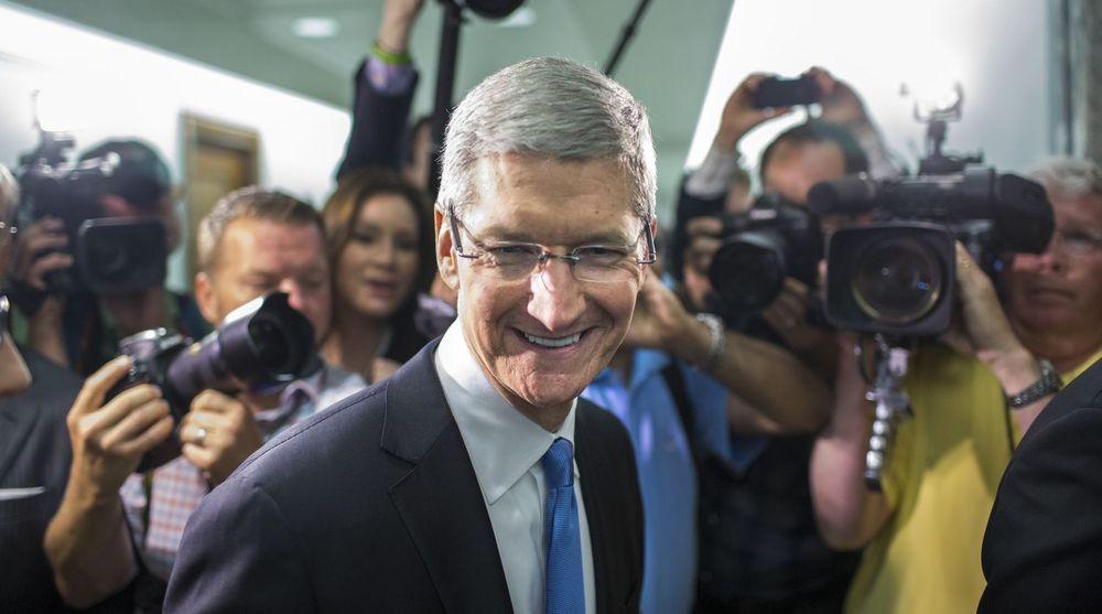 Ingen har fått til mobilbetaling av varer i fysiske butikker ennå, mener Apple-sjef Tim Cook. Han legger ikke skjul på at selskapet er svært interessert i dette området.