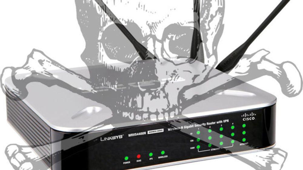 Ciscos Linksys WRVS4400N er bare én av mange rutere som har bakdør, ifølge sikkerhetsforsker.