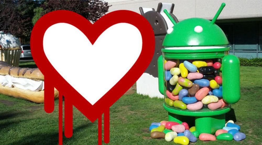 En enslig underversjon av Jelly Bean er sårbar for Heartbleed. Det er uklart hvor mange enheter som er berørt, men Jelly Bean-utgavene av Android er fortsatt svært utbredt.