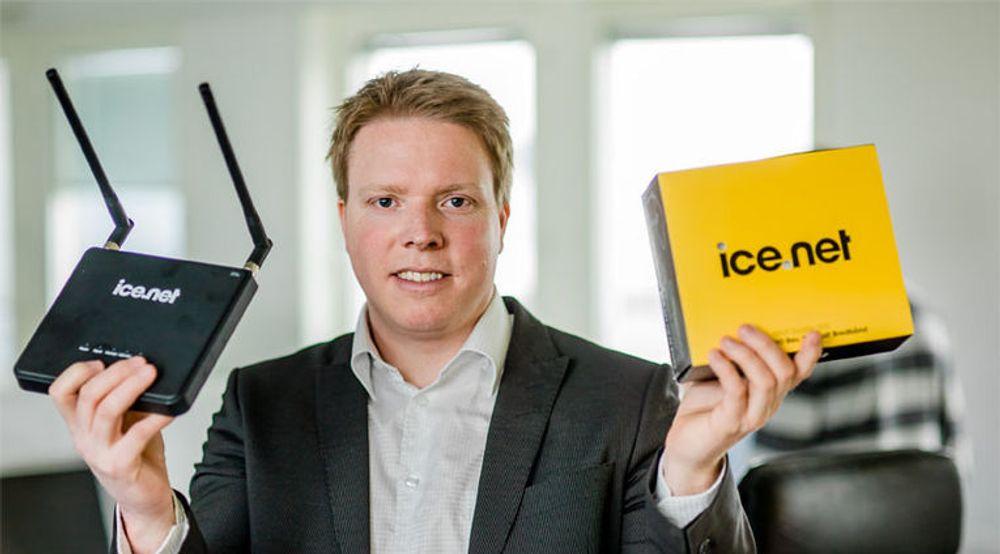 Ice.net dekker mer av Norges areal enn noen av konkurrentene. Det gir kundetilvekst, sier Eivind Helgaker.