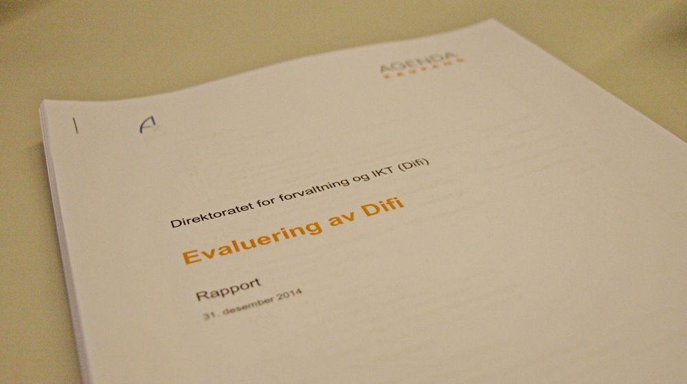 PÅ GANGEN: Evalueringsrapporten avdekker at Difi har for lite makt og settes på gangen i de store omstillingsprosjektene i staten.