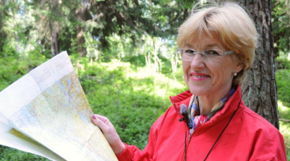 Kartverksjef Anne Cathrine Frøstrup kan omsider slippe løs de norske N50-kartene for fri viderebruk.