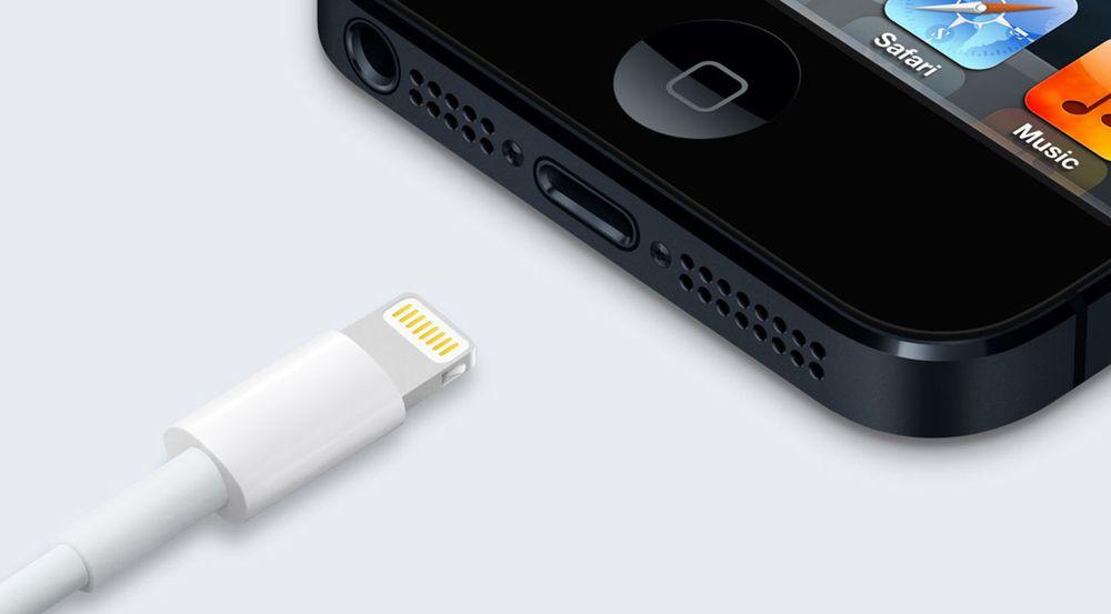 Lightning-kabelen til iPhone bryter med EUs ambisjon om at ladekabler skal være standard og fungere på alle enheter.