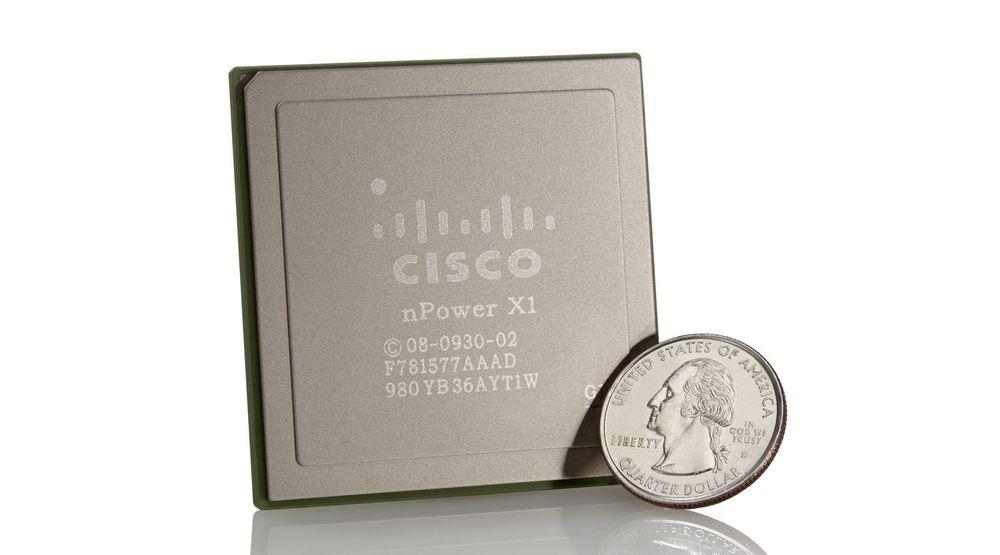 Nettverksprosessoren nPower X1 skal bidra sterkt til den økte kapasiteten i Ciscos nye NCS-produktfamilie.