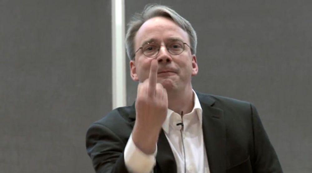 IRRITERT: Linux-oppfinner Linus Torvalds ga ifjor fingeren til grafikkort-produsent Nvidia, og ba dem «dra til helvete» som det verste selskapet Linux-utviklere noensinne har måttet forholde seg til.