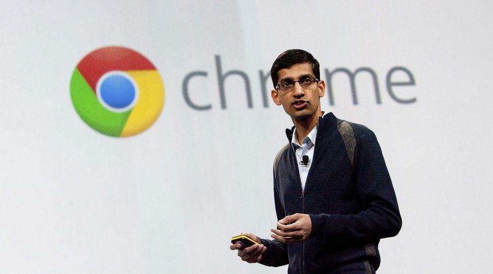 Chrome, med produktdirektør Sundar Pichai, har fått en betydelig posisjon i nettlesermarkedet. Om ikke så lenge er de med å begrave Java som nettleser-plugin for godt. Da forsvinner nemlig støtten for både denne og de fleste andre nettleser-plugins fra Chrome.