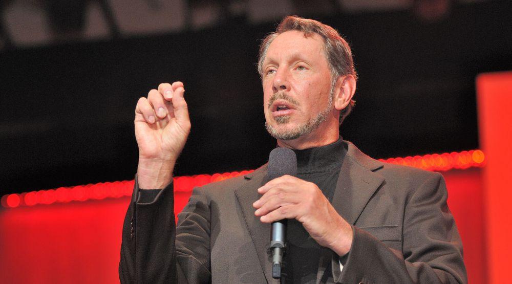Oracle-sjef Larry Ellison lover dramatisk ytelsesforbedring for databaseapplikasjoner.