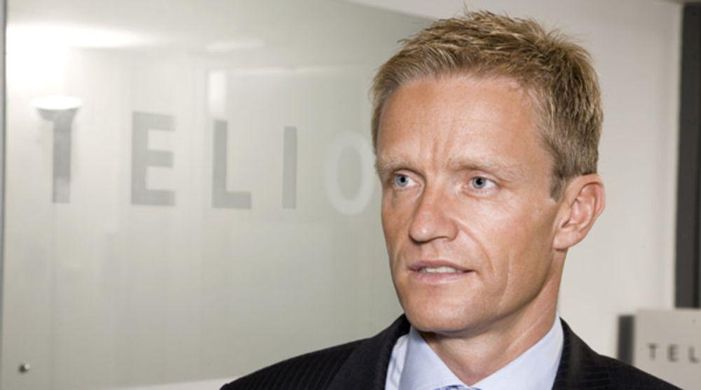 Eirik Lunde, administrerende direktør i Telio Holding, er fornøyd med første halvdel av 2014.