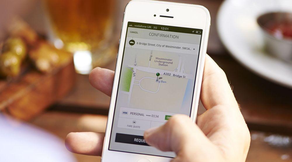 Uber er en appbasert transporttjeneste som knytter sjåfører med passasjerer.
