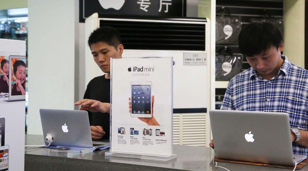 Kinesiske myndigheter har sendt en faks til Reuters der de understreker at Apple-produkter fortsatt er lov å handle inn.